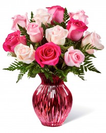 The Happy Spring Mixed Rose Bouquet