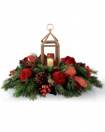I'll be Home for Christmas Centerpiece