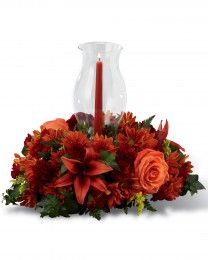 Heart of Harvest Centerpiece
