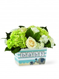 The Darling Baby Boy Bouquet