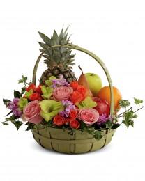 The Fruit & Flowers Basket