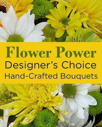 Mixed Yellow Florist Designed Bqt