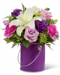 The Color Your Day With Beauty Bouquet