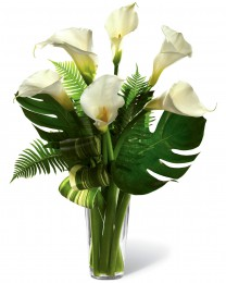 The Always Adored Calla Lily Bouquet