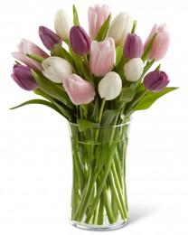 Painted Skies Tulip Bouquet